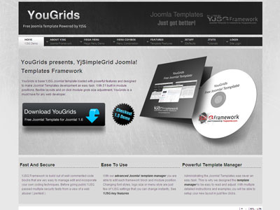 YouGrids-Free-Joomla-1.7-Template